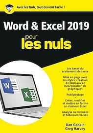 Téléchargez le livre :  Word et Excel 2019 pour les Nuls