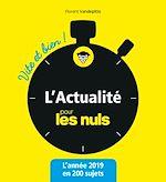 Download this eBook L'Actualité pour les Nuls vite et bien