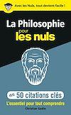 Télécharger le livre :  La philosophie en 50 citations clés pour les Nuls