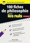 Télécharger le livre :  100 fiches de philosophie pour les Nuls CONCOURS