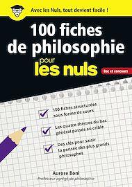 Téléchargez le livre :  100 fiches de philosophie pour les Nuls CONCOURS