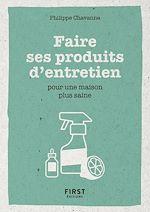 Download this eBook Faire ses produits d'entretien - Pour une maison plus saine - Petit livre