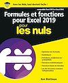 Télécharger le livre :  Formules et fonctions pour Excel 2019 pour les Nuls