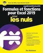 Download this eBook Formules et fonctions pour Excel 2019 pour les Nuls