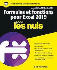 Téléchargez le livre :  Formules et fonctions pour Excel 2019 pour les Nuls