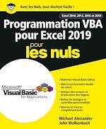 Téléchargez le livre :  Programmation VBA pour Excel 2019 Pour les Nuls
