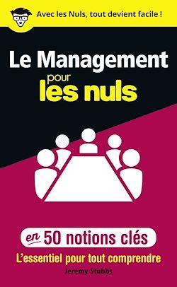 Download the eBook: Le management pour les Nuls en 50 notions clés