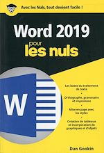 Download this eBook Word 2019 pour les Nuls poche