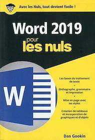Téléchargez le livre :  Word 2019 pour les Nuls poche