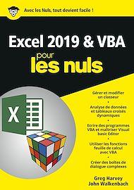 Téléchargez le livre :  Excel 2019 & VBA pour les Nuls, mégapoche