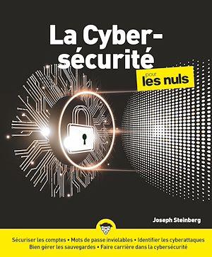 Téléchargez le livre :  La Cybersécurité pour les Nuls, grand format