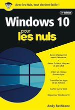Download this eBook Windows 10 pour les Nuls, poche, 5e éd.