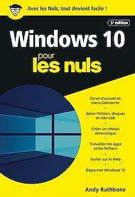 Téléchargez le livre :  Windows 10 pour les Nuls, poche, 5e éd.