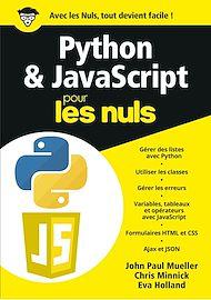 Téléchargez le livre :  Python & JavaScript pour les Nuls, mégapoche
