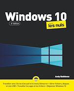 Téléchargez le livre :  Windows 10 pour les Nuls, grand format, 6e éd.