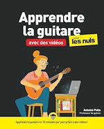 Download this eBook Apprendre la guitare avec des vidéos pour les Nuls mégapoche