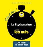 Download this eBook La Psychanalyse vite et bien pour les Nuls