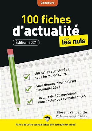 Téléchargez le livre :  100 fiches d'actualité pour les Nuls Concours, 3e édition