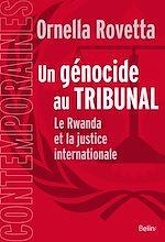 Téléchargez le livre :  Un génocide au tribunal