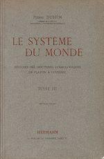 Téléchargez le livre :  Le système du monde. Tome III