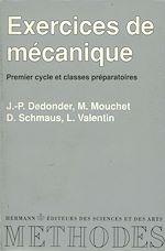 Download this eBook Exercices de mécanique