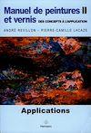 Télécharger le livre :  Manuel de peintures et vernis. Volume II
