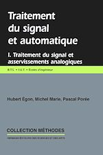 Download this eBook Traitement du signal et automatique, vol. 1