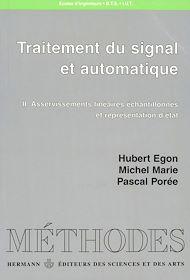 Téléchargez le livre :  Traitement du signal et automatique, vol. 2