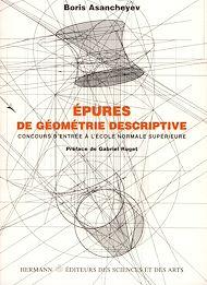 Téléchargez le livre :  Épures de géométrie descriptive