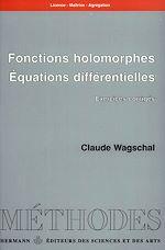 Download this eBook Fonctions holomorphes. Équations différentielles