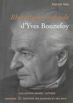 Download this eBook Rhétorique profonde d'Yves Bonnefoy