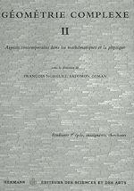 Téléchargez le livre :  Géométrie complexe II