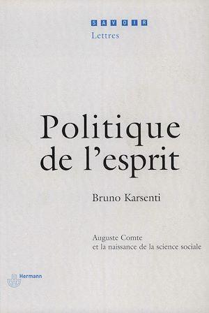 Téléchargez le livre :  Politique de l'esprit