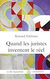 Télécharger le livre :  Quand les juristes inventent le réel - La fabulation juridique