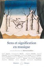 Téléchargez le livre :  Sens et signification en musique