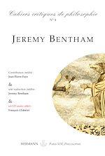 Téléchargez le livre :  Cahiers critiques de Philosophie, n°4 - Jérémy Bentham