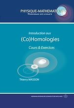 Téléchargez le livre :  Introduction aux (Co)homologies - Cours et exercices