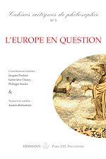 Téléchargez le livre :  Cahiers critiques de Philosophie, n°5 - L'Europe en question