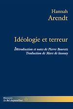 Téléchargez le livre :  Idéologie et terreur