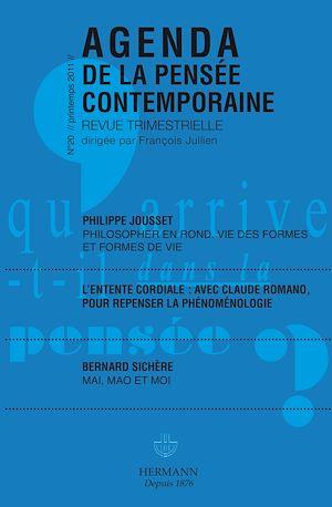 Téléchargez le livre :  Agenda de la Pensée contemporaine, n°20
