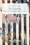 Télécharger le livre :  De l'insolite - Essai sur la littérature du XXe siècle