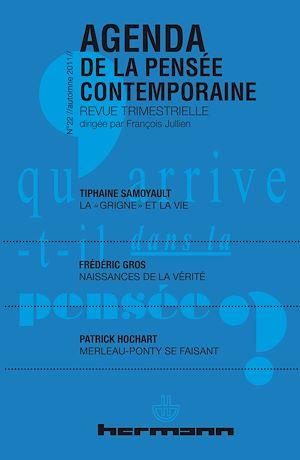Téléchargez le livre :  Agenda de la Pensée contemporaine, n°22