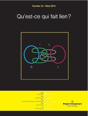 Téléchargez le livre :  Revue des Collèges de Clinique psychanalytique du Champ Lacanien - n°12