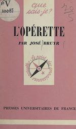 Download this eBook L'opérette