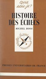 Download this eBook Histoire des échecs