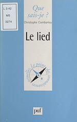 Téléchargez le livre :  Le lied