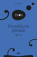 Téléchargez le livre :  Procédure pénale