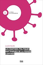 Téléchargez le livre :  Les émotions politiques inattendues de la pensée confinée