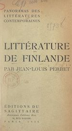 Download this eBook Panorama de la littérature contemporaine de Finlande