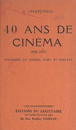 Download this eBook 40 ans de cinéma, 1895-1935